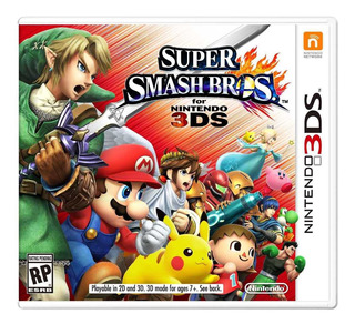 ..:: Super Smash Bros ::. Para 3ds / 2ds En Start Games