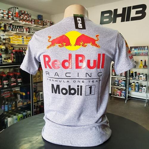 Camiseta Red Bull Racing Team F1 Astom Honda Camisa Am.006