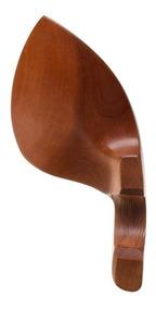 Queixeira Para Violino 4/4 Em Boxwood Com Ferragem #vcr-boxw