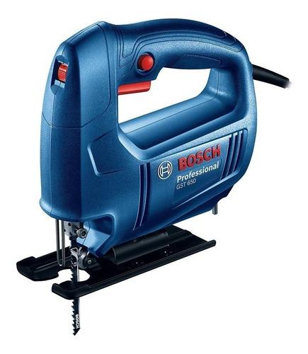 Sierra Caladora Bosch Gst 650 450 W Vel Variable + Hoja