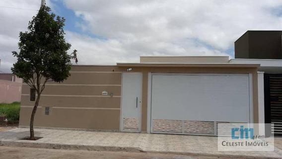 Casa Com 2 Dormitórios À Venda, 140 M² Por R$ 380.000 - Portal Ville Primavera - Boituva/sp - Ca0519