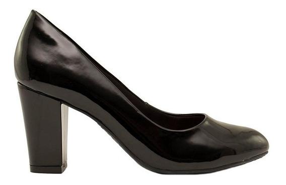 Zapatos Clásicos Mujer Charol Negro Ramarim