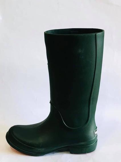 Botas De Lluvia De Mujer (harenna 270) Verde