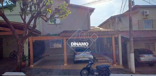 Imagem 1 de 22 de Sobrado Com 3 Dormitórios À Venda, 160 M² - Condomínio Dei Fiori - Ribeirão Preto/sp - So0111