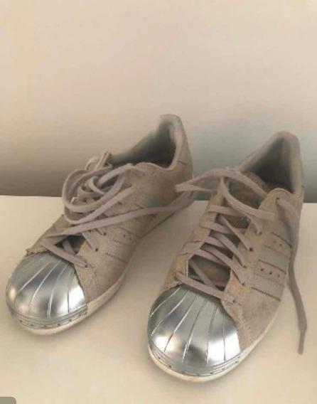adidas Superstar Zapatillas Mujer Talle 35 1/2