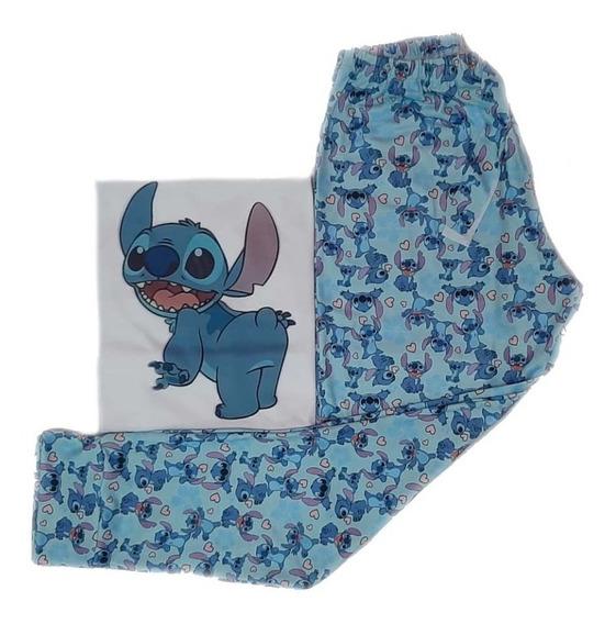 Pijama Mujer Stitch Simpson Homero Donna Hellokitty No Es No