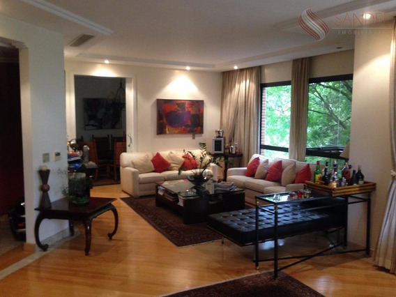 Apartamento 600m ²- 4 Suítes - 7 Vagas Garagem - Campo Belo (l) - Ap0053