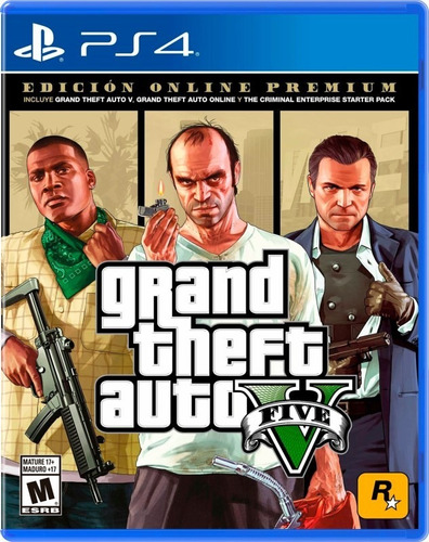 Imagen 1 de 5 de Juego Ps4 Grand Theft Auto V Sony Playstation