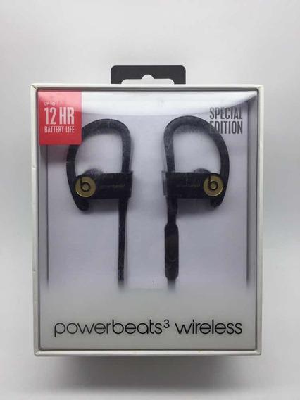 Fone Power Beats 3 Wireless A1747 Edition Black Gold.