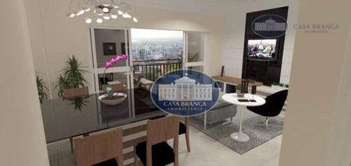 Apartamento Com 2 Dormitórios À Venda, 89 M² Por R$ 389.000,00 - São Joaquim - Araçatuba/sp - Ap0791