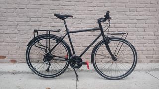 Bicicleta Fad Cicloturismo 700x32 Shimano Acera Portas 27 V