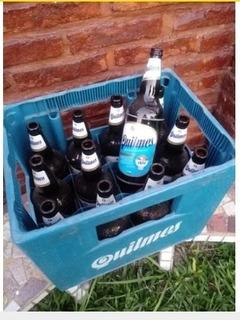 Cajones De Cerveza Con Botellas Vacías, $499 C/u. 4 X 1500
