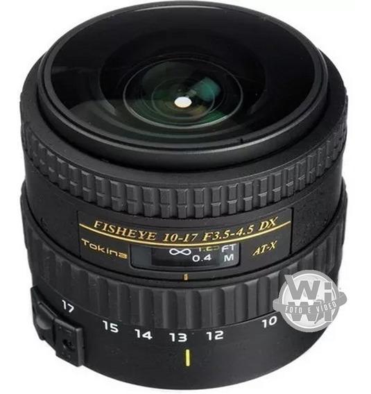 Tokina Af 10-17mm F: 3.5-4.5 At-x 107 Nh Fisheye (canon Usad
