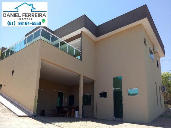 Casa 5 Quartos - Condomínio Santa Monica - Brasília Df