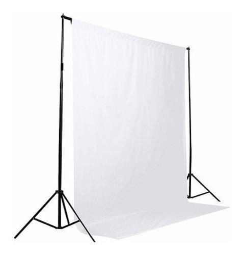 2 Tecidos Fundo Infinito 3x3m Fotografico Branco + Preto