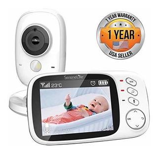 Serenelife Monitor De Vídeo Para Bebé De Largo Alcance, Vis