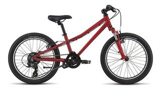 Bicicleta Specialized Hotrock Rodado 20 7v. Rojo - Racer