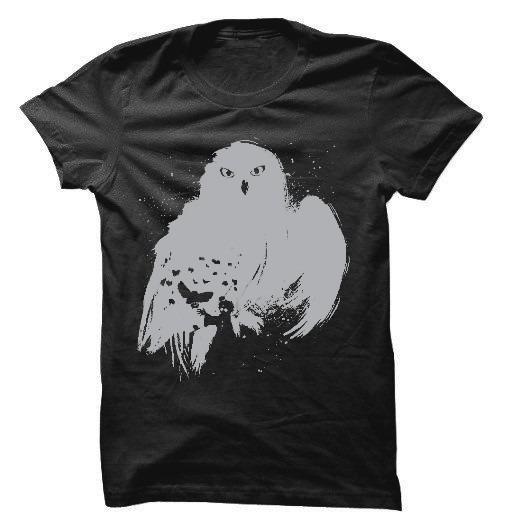 Camiseta, Camisa Harry Potter Coruja Todos Os Tamanhos