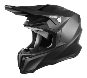 Casco Airoh Twist Negro Mate Cross Enduro Atv - Sti Motos