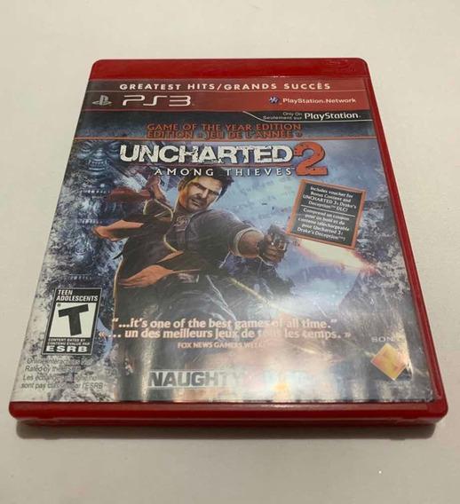 Uncharted 2 Among Thieves Playstation 3 Jogo Original Ps3