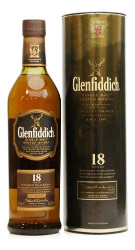 Imagen 1 de 7 de  Whisky Glenfiddich 18 Años 750ml En Estuche Ed Antigua