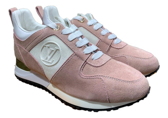 Tenis Sneakers Louis Vuitton Dama Pink, Envío Gratis