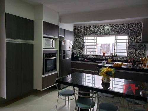 Excelente Casa Residencial À Venda, Jardim São Miguel, Estuda Permuta Em Bragança Paulista-sp. - Ca0659