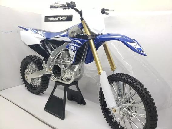 Juguete Motocross Yamaha Yzf450 Escala 1:6 Newray Juri