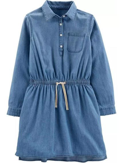 Vestidos Carters Niña Talla 2 3 4 5 6 7 8 10 12 Y 14 Jean