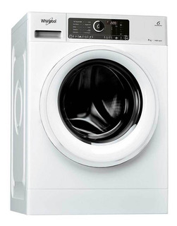 Lavarropas Carga Frontal Inverter Whirlpool 7kg 1400 Rpm Wlc