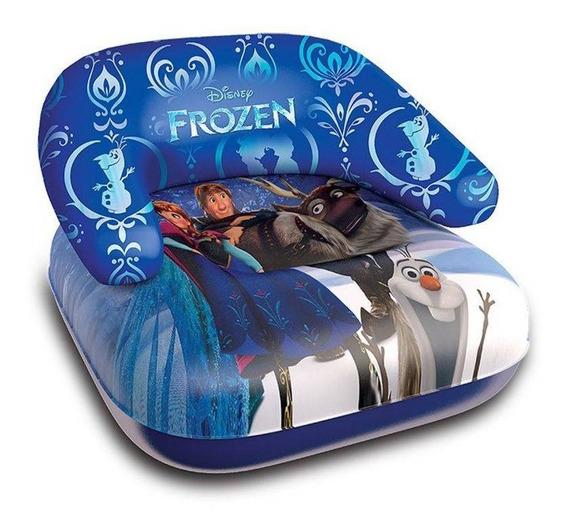 Mini Poltrona Frozen Inflável 60cm, Poltrona Inflável Disney