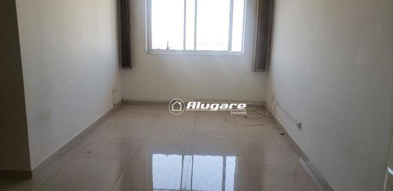 Apartamento Com 2 Dormitórios Para Alugar, 70 M² Por R$ 1.400/mês - Vila Galvão - Guarulhos/sp - Ap3253