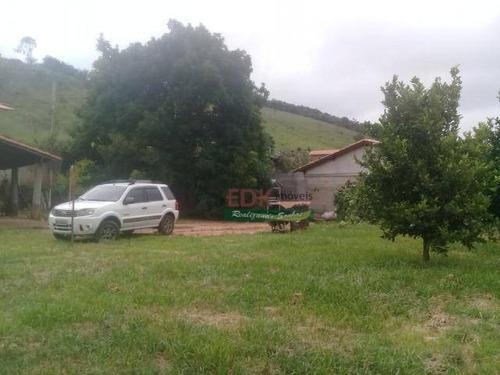 Imagem 1 de 11 de Chácara Com 2 Dormitórios À Venda, 2500 M² Por R$ 220.000,00 - Paiol Grande - Redenção Da Serra/sp - Ch0693