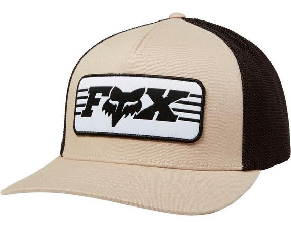 Gorra Fox Muffler Flexfit Negra Original Mtb Bmx Bike