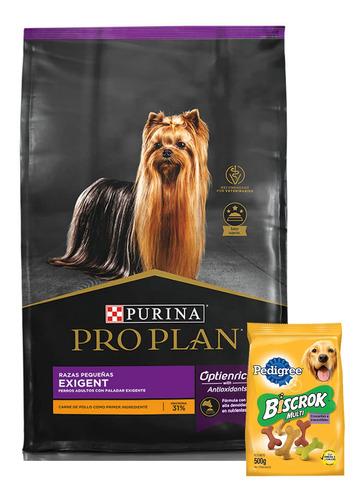 Pro Plan Exigent Dog Raza Pequeña 7,5kg + Regalo ! Ver Foto