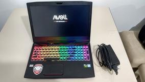Notebook Gamer Avell - I5 7300hq- Gtx 1050ti-16gb -ssd 256gb