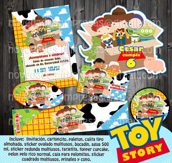 Kit Imprimible Toy Story