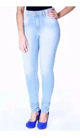 Kit 10 Calça Jeans Feminina Plus Size Skinny Com Lycra