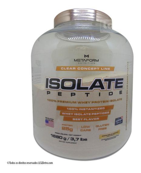 Whey Protein Isolate Peptide 100% Isolado 1680g Metaform