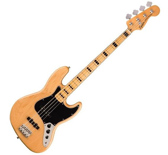 Contrabaixo Fender Squier Classic Vibe 70s Jazz Bass Natural
