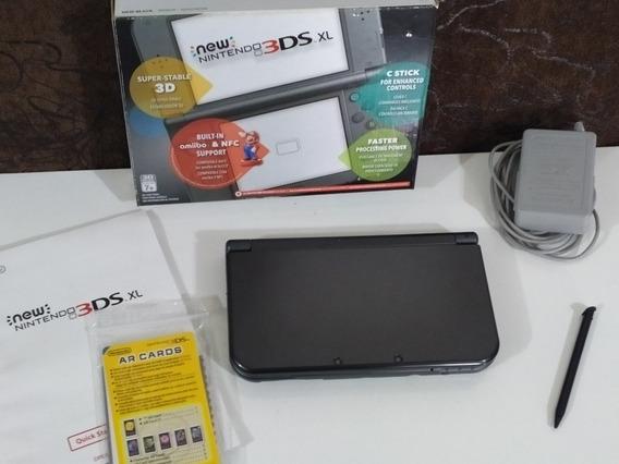 New Nintendo 3ds Xl Completo + Vários Jogos