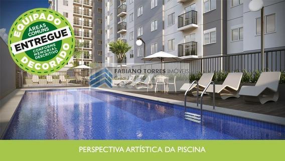 Apartamento A Venda Em São Bernardo Do Campo, Bairro Dos Casas, 2 Dormitórios, 1 Banheiro, 1 Vaga - Morata