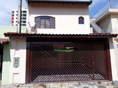 Imagem 1 de 9 de Sobrado Com 5 Dormitórios À Venda Por R$ 550.000 - Jardim Santo Antônio - Suzano/sp - So2467