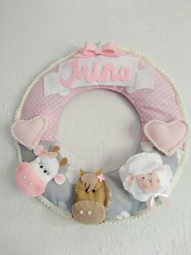 Cartel Maternidad !! Animalitos De La Granja
