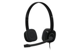 Logitech H151 Fone Headset Stereo - Preto