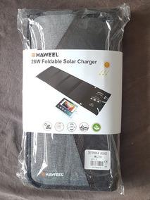 Carregador Solar Turbo 28w Haweel