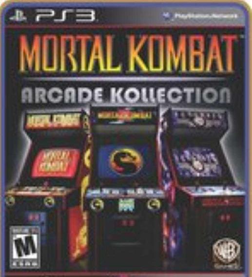 Mortal Kombat Arcade Kollection Ps3 Jogo