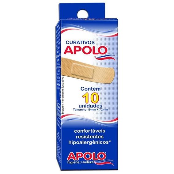 Curativos Apolo Hipoalergenicos 10unidades