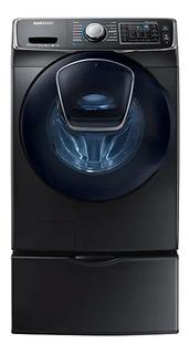 Lavadora Samsung 22kg Carga Frontal Pedestal Wf22k6500av