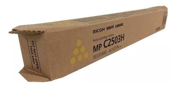 841919 Ricoh MP C2003 C2503 C2504 Yellow Toner Cartridge C2004